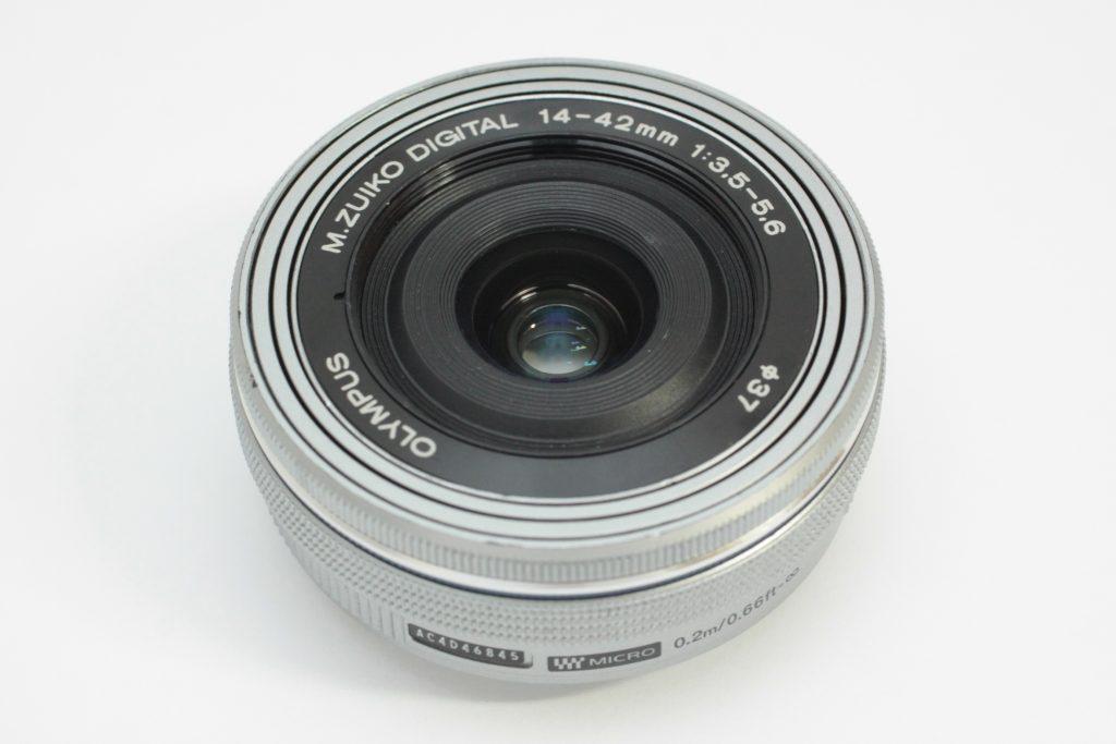 OLYMPUS M.ZUIKO DIGITAL ED 14-42mm F3.5-5.6 EZ [シルバー]買取しました