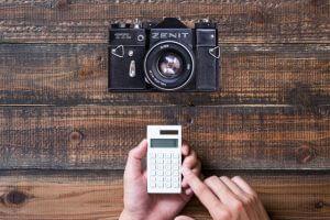 一眼レフカメラはリサイクルショップでは高く評価されない可能性がある