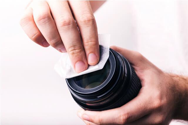 一眼レフカメラの買取りはお手入れ必要?