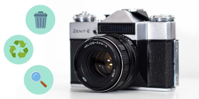 一眼レフカメラを処分する際の選択肢
